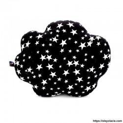 Coussin nuage noir - 2