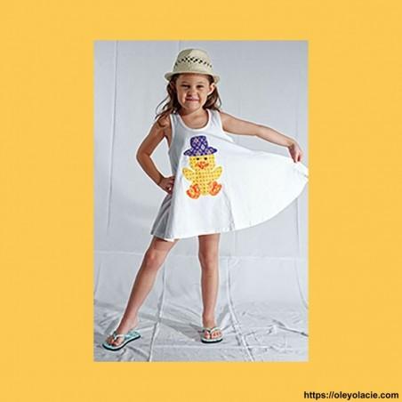 Robe/ tunique patchwork - 1 - Robes - Robes - tuniques patchwork - vêtement enfant - Oley Ola cie® -
