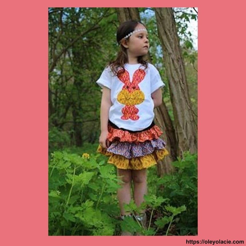 Tee-shirt patchwork manches courtes - 1 - Tee-shirt - Tee-shirt patchwork - vêtement enfant - Oley Ola cie® -
