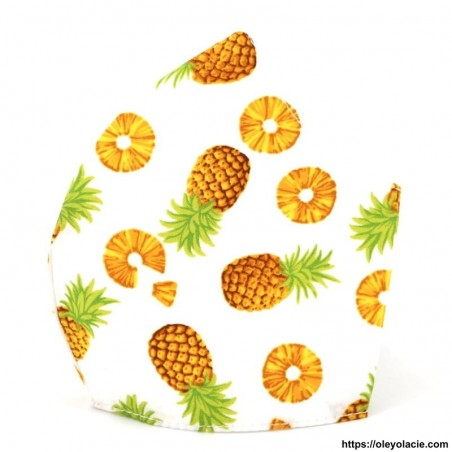 Masque alternatif ananas adulte - Oley Ola cie ®