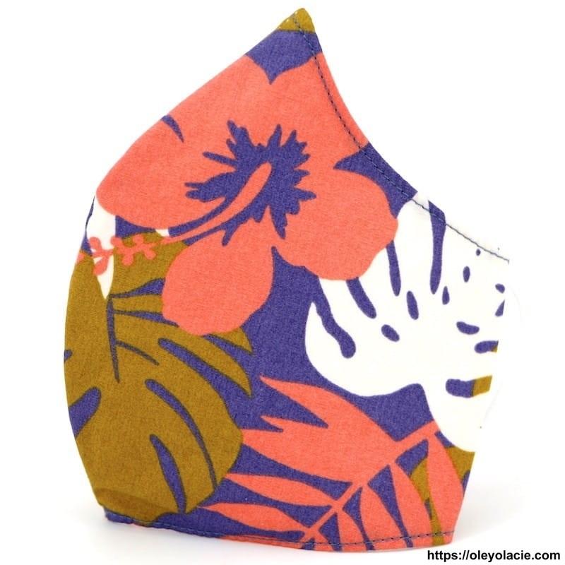 copy of Masque alternatif géométrique adulte - 1 - Masques alternatifs - Masques alternatifs en tissu géométrique adulte - Oley