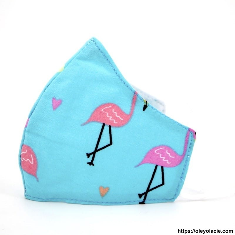 Masque alternatif flamingo 2 - 5 ans - Oley Ola cie ®