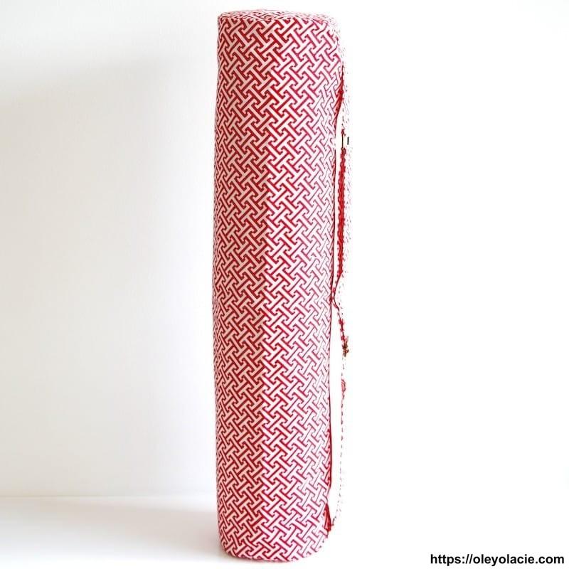 Sac à tapis de sol Tétris - 1 - Sacs à tapis de sol - Sac à tapis de sol (fitness, yoga) - Oley Ola cie ® Sérigraphié artisanale