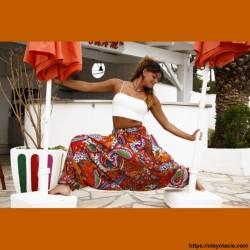 copy of Sarouel femme mandala - 1 - Sarouel - Sarouel femme - Oley Ola cie® - Voile de coton imprimé mandala et doublé -