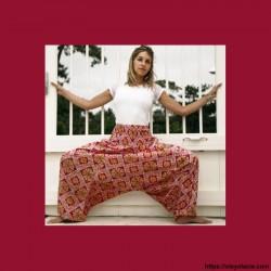 copy of Sarouel femme Bollywood - 2 - Sarouel - Sarouel femme - Oley Ola cie® - Voile de coton imprimé Bollywood et doublé -
