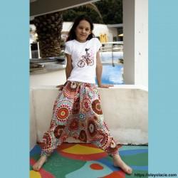 Sarouel enfant 8-12 ans polka-dot ❤️ - Oley Ola cie ®