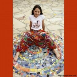 Sarouel enfant 8-12 ans Bollywood ❤️ - Oley Ola cie ®