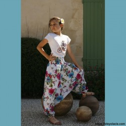 Sarouel enfant 8-12 ans Boho ❤️ - Oley Ola cie ®