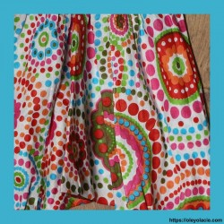 Sarouel bébé polka-dot ❤️ - 2 - Sarouel - Sarouel Bébé - Oley Ola cie® - Voile de coton imprimé -
