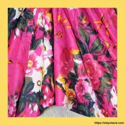 copy of Sarouel enfant hibiscus 3-6 ans ❤️ - 2 - Sarouel - Sarouel enfant 3-6 ans - Oley Ola cie® - Voile de coton imprimé hibis