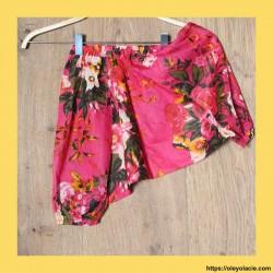 copy of Sarouel enfant hibiscus 3-6 ans ❤️ - 3 - Sarouel - Sarouel enfant 3-6 ans - Oley Ola cie® - Voile de coton imprimé hibis
