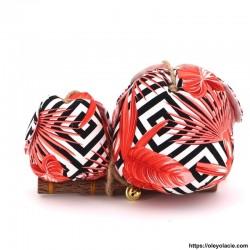 copy of Couple 2 hiboux LM coloris rose - 2 - Un grand & un moyen - Couple 2 hiboux LM coloris rose - Oley Ola cie ®  à personna