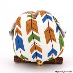 copy of Hibou solo taille L coloris orange - 2 - Les grands - Hibou solo taille L coloris orange - Oley Ola cie ®  à personnalis