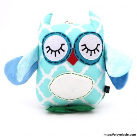 Peluche hibou et ses ailes - 7 - Peluches décoratives - Peluche hibou - Oley Ola cie ® Personnalisable Personnalisable -