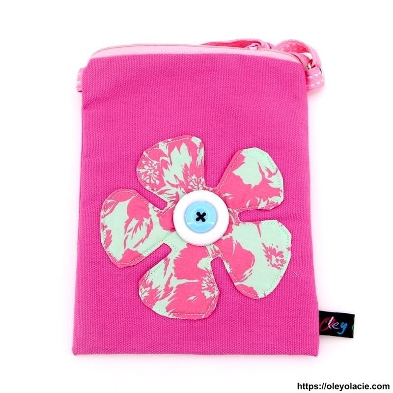 Pochettes bandoulière fleur - Oley Ola cie ®