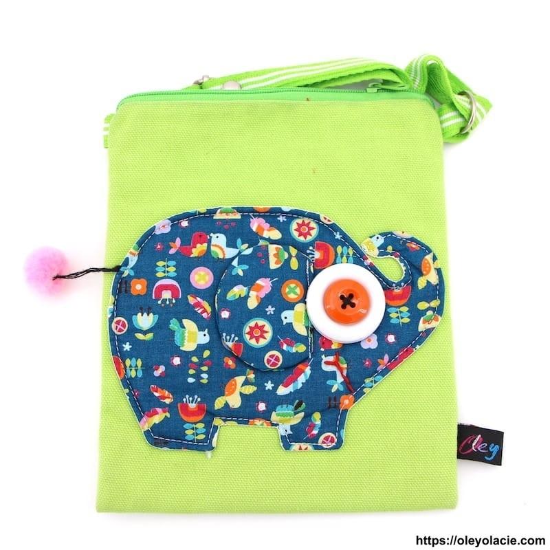 Pochettes bandoulière éléphant - Oley Ola cie ®