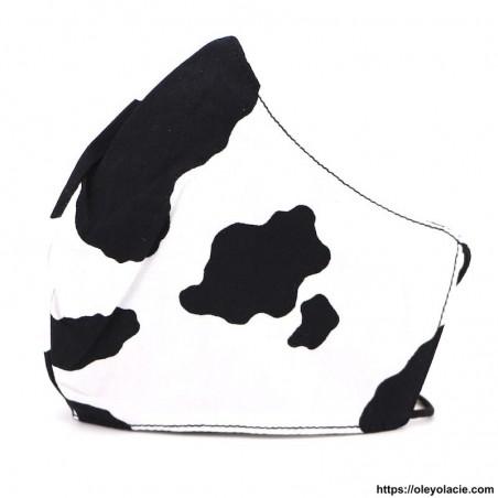 Masque alternatif campagne adulte - 1 - Masques adultes - Masques alternatifs en tissu campagne adulte - Oley Ola cie ® -