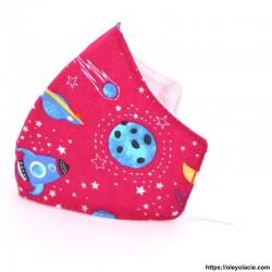 Masque alternatif galaxie 2 - 5 ans - Oley Ola cie ®