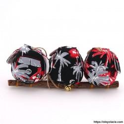 3 hiboux taille M coloris noir - Oley Ola cie ®