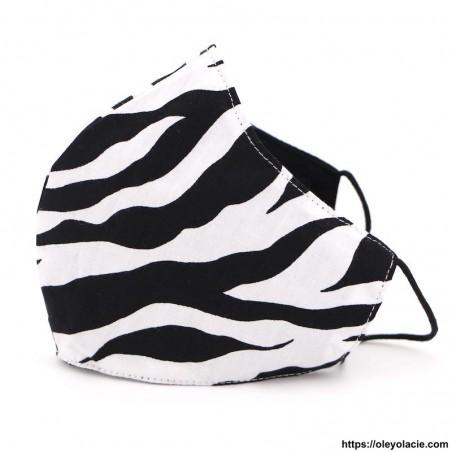 Masque alternatif safari adulte - Oley Ola cie ®