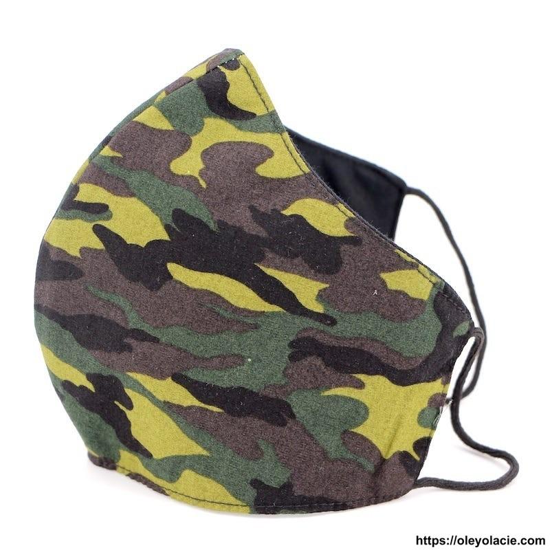 Masque alternatif militaire adulte - Oley Ola cie ®