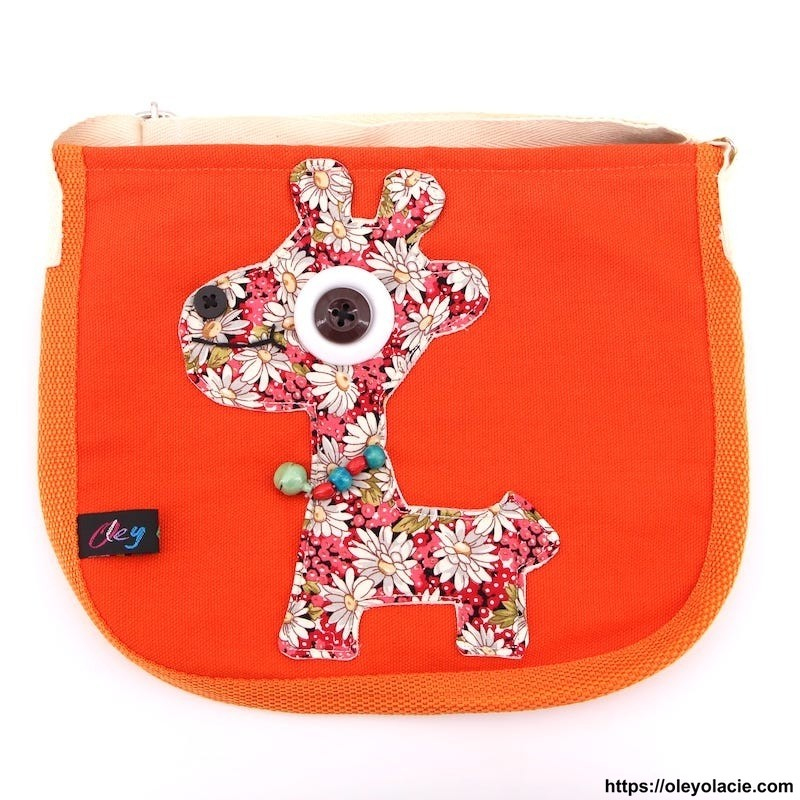 Besace girafe - Oley Ola cie ®