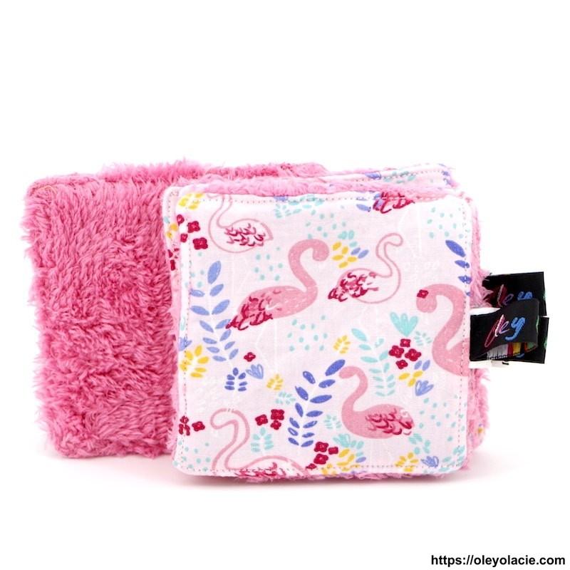 Lingettes lavables à l'unité ☀️ motif animaux - Oley Ola cie ®