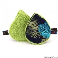 Lingettes lavables à l'unité ☀️ motif feuilles - Oley Ola cie ®