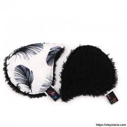 Lingettes lavables à l'unité ☀️ motif plumes