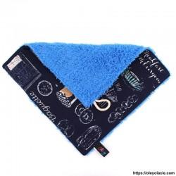 Essuie-tout lavable à l'unité motif parisien - Oley Ola cie ®