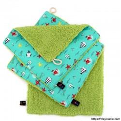 Essuie-tout lavable pack de 3 motif animaux