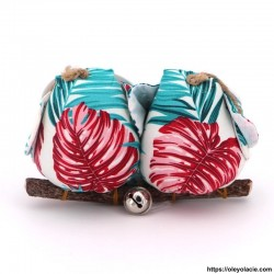 Couple 2 hiboux taille M multicolore - Oley Ola cie ®