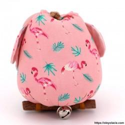 Hibou solo taille L coloris rose - Oley Ola cie ®