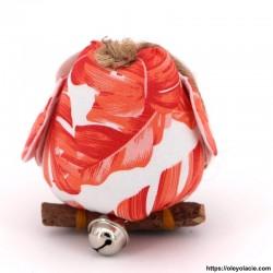 Hibou solo taille M coloris orange - Oley Ola cie ®