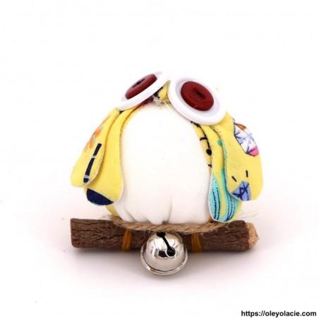 Hibou solo taille S coloris jaune - Oley Ola cie ®