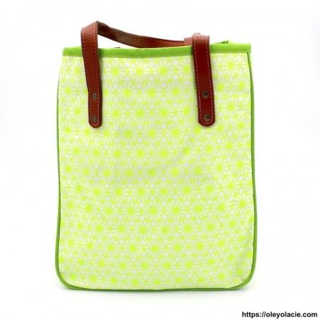 Tote bag Sakura - 1 - Totes bag - Tote bag Sakura - Oley Ola cie ® Sérigraphié artisanalement -